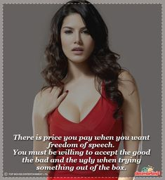 7d9aa7fd00 11 Quotes Of Sunny Leone That ll Inspire You! Sunnies