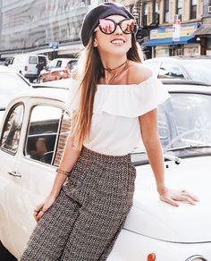 Fim de tarde de #NYFW com #regram da sempre linda e estilosa @ludangelo na big apple...Ela veste @shii_rio marca carioca super cool que está na curadoria do nosso site (busque pelo nome clicando no link da bio!) . . . #moda #fashion #style #ootd #photooftheday #picoftheday #decor #design #cool #look #beautiful #amazing #instadesign #instamoda #tendencia #trendy #chic #fashionista