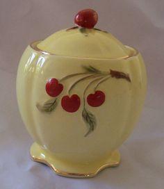 Cherry Cookie Jar