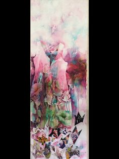 Watercolour by Tess Ureta-Aligaen Size: 2'x 4'