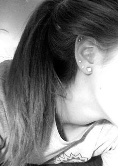 Third lobes and second cartilage. Really want my rook done soon