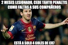 Messi ya está en la lucha por el pichichi