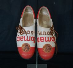 Andy Warhol Campbells Soup Shoes