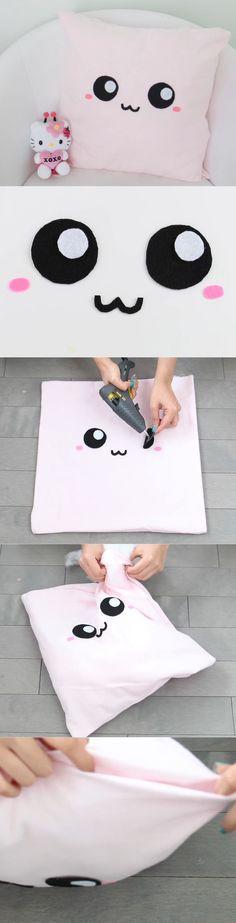 Идея для детской декоративной подушки.