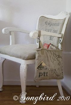 postal styled chair by Songbird