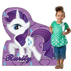 My Little Pony Rarity Standee Standup #Hasbro #BirthdayChild
