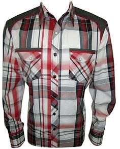 House of Lords Buckeye Plaid Shirt 79$