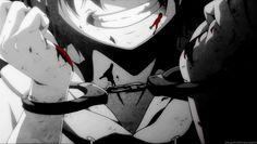anime, blood, and manga image Sad Anime, Anime Guys, Manga Anime, Anime Art, Blood Lad, Ai No Kusabi, Horror Pictures, Deadman Wonderland, Image Manga