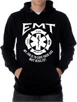 EMT's Save Your Ass Hoodie