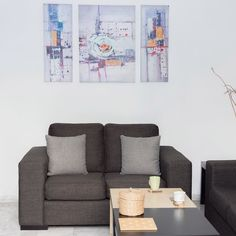 Living room #currenthomeview . . . .  #currentdesignsituation #couch #greycouch #GreyHome  #myhome #decor #wallart #mynordicroom #minimal #minimaldecor #homedecor #scandinavianhomes #woodenclock  #softminimalism #minimalmood #minimaldecor #onlyinterior #pocketofmyhome #myhappyplace #instahomes #greyhouse #greyinteriors #greydecor #livingroominterior #MondayMotivation #sundayathome #κυριακη_στο_σπιτι