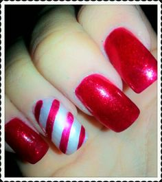 Festive Nails we love at Very.co.uk l Shop our Nail Collections here to create this look: http://www.very.co.uk/beauty/nail-care/e/b/100172.end x