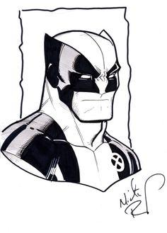Wolverine by Nick Bradshaw