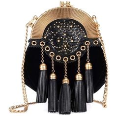 Miu Miu Velvet Shoulder Bag (1'785 CHF) ❤ liked on Polyvore featuring bags, handbags, shoulder bags, black, shoulder handbags, velvet handbag, velvet shoulder bag, purse shoulder bag and hand bags