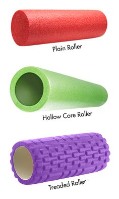 How to choose a foam roller for the right pressure