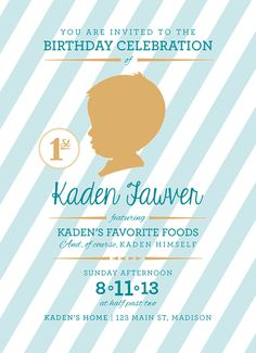 What's Up with The Buells: KADEN TURNS ONE - HIS 'FAVORITE FOODS' THEMED BIRTHDAY BASH