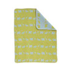 Safari Blanket - Lime #nextgigglenursery