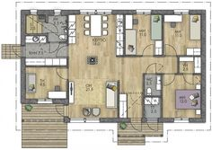 Sims, Future House, House Plans, Floor Plans, Construction, Exterior, Flooring, How To Plan, Building