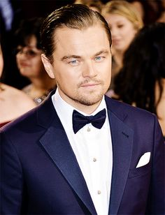 Leonardo DiCaprio attends the 86th Annual Academy Awards