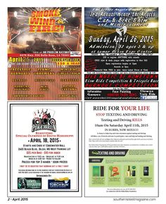 Motorcycle & Car Events across the states.