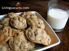 A yummy chocolate chip cookie recipe that works perfect for me every time! LivingLocurto.com