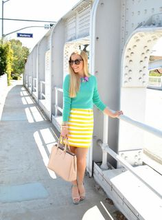 Fash Boulevard  Spring Summer Pastels