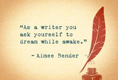 Aimee Bender on being a writer. (via Advice from the Worlds Best Writers - Quotes on Writing - Oprah.com)