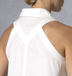 love this back of top detail - V1440, Misses' Jacket, Top and Pants