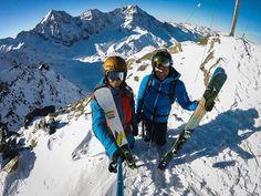 Something to get your blood rushing this morning! #SteepSkiing #nanoxski #skiing #ski #nanoxskiwax #alps #freerideskiing #backcountryskiing #freeski #freeskiing #backcountryski #freeriding #winter #snow #goodvibesonly #positiveemotions #enjoyment #joy #fun #happy #nanox #iloveskiing #iloveski