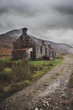 British Isles: Scottish Highlands by Daniel Alford Highlands Scotland, Scottish Highlands, Scotland Travel, Scotland Vacation, Scottish Cottages, England And Scotland, British Isles, Abandoned Places, Belle Photo