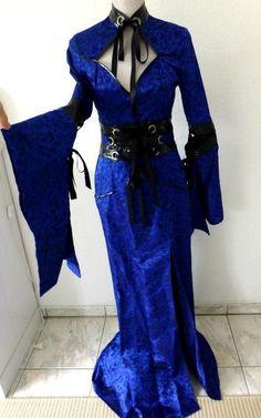Lip Service Hollywood Typhoon Geisha Dress Gr. 36-38 hollywood kleid gothic cybergoth cyber - kleiderkreisel.de