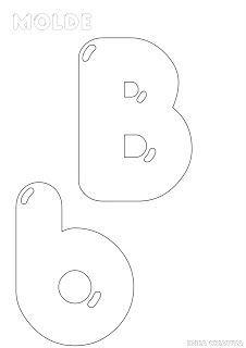 ♥ProfªAnanda♥: Molde de Alfabeto