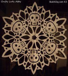 Skullflake (Snowflake Skull)