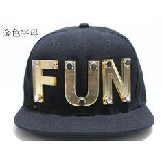 8f6b648375312 Men Studded Hats FUN Baseball Caps Adjustable Hats Snapback Rivet Hats...  ( 18