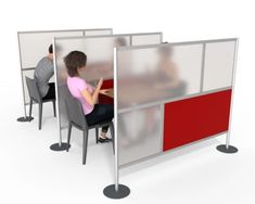 "60"", 80"" & 84"" ROOM PARTITIONS FOR HEALTHCARE, RESTAURANTS, & OFFICES Desk Dividers, Office Room Dividers, Free Design, Custom Design, Room Partitions, Modular Design, Modern Room, Offices, Layout Design"