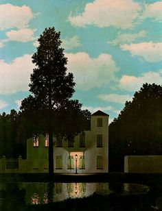 The Empire of Lights - Rene Magritte