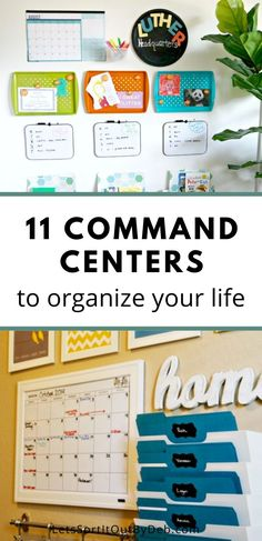 Need to organize your home life? Check out these command center ideas to help organize your home #commandcenters #commandcenterideas #commandcenter #homeogranization