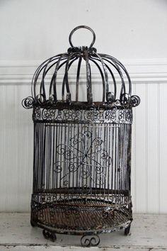 Original 1950's Bird Cage