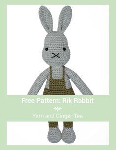 Mesmerizing Crochet an Amigurumi Rabbit Ideas. Lovely Crochet an Amigurumi Rabbit Ideas. Crochet Amigurumi, Amigurumi Patterns, Amigurumi Doll, Crochet Dolls, Crochet Yarn, Crochet Patterns, Love Crochet, Crochet For Kids, Easter Crochet
