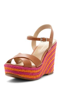 Wedge Sandal Striped Wedges 2be5c20ce0a