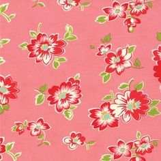 Scrumptious 55072-14 Pink Summer by Bonnie & Camille for Moda