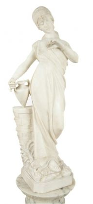Italian Marble Sculpture 19th C. on #AntiqueForSale from Garners Antiques