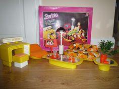 Mattel*Barbie*Wohnzimmer*70er Jahre*Vintage* Mit OVP Sammlerstück In