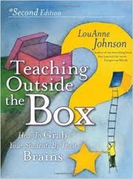 I did not want to put the book down, I found I really enjoyed the style of writing LouAnne Johnson, teacher and author, presents in the textbook Teaching Outside the Box, it feels as though I am ha...