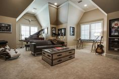 How to Design a Music Room with the Best Music Room Ideas - https://midcityeast.com/how-to-design-a-music-room-with-the-best-music-room-ideas/