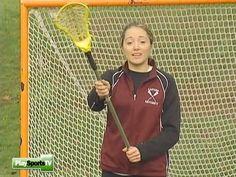 Girls' Lacrosse Basics: How to Catch