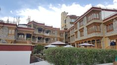 Hotel in Leh, where we stay