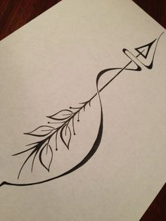 ARROW. This would make a really cool tattoo!