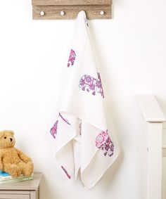 Look at this 48'' x 48'' Elephant Swaddling Blanket on #zulily today!
