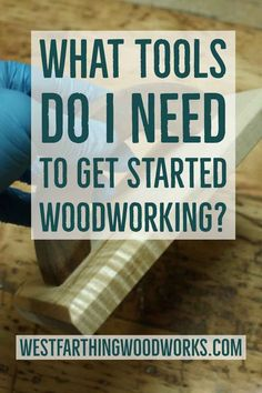 What tools do i need to get started woodworking?  This post will help you figure out that you need as a new woodworker. It's much easier than you think. Happy building.