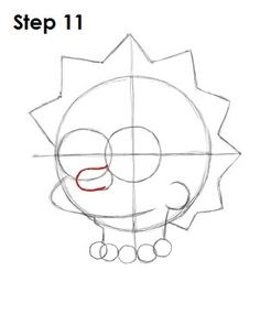 How to Draw Lisa Simpson Lisa Simpsons, Simpsons Art, Hippie Painting, Trippy Painting, Fish Drawings, Pencil Art Drawings, Drawing Cartoon Characters, Cartoon Art, Pintura Hippie